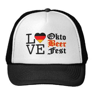 Love Heart Oktobeer fest Trucker Hat