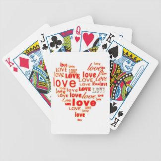 Love Heart Playing Cards