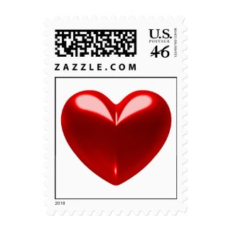 LOVE HEART POSTAGE - Small Size stamp