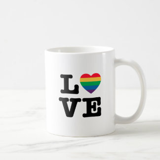Love Heart Pride Coffee Mug