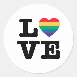Love Heart Pride Sticker