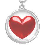 Love heart red custom jewelry