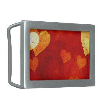 Love Heart Shape Belt Buckle