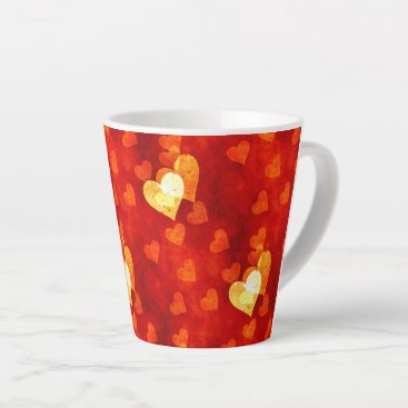 Love Heart Shape Latte Mug