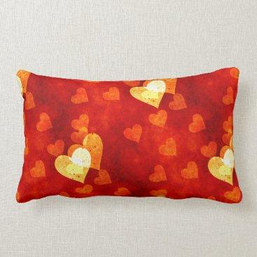 Love Heart Shape Lumbar Pillow