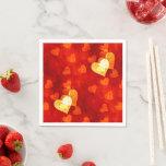 Love Heart Shape Napkins