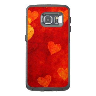 Love Heart Shape OtterBox Samsung Galaxy S6 Edge Case
