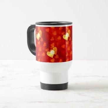 Love Heart Shape Travel Mug