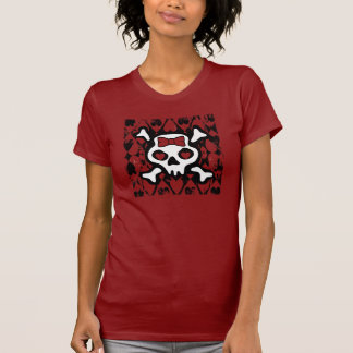 Love Heart Skull T-shirts