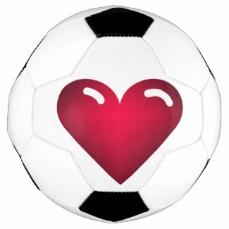 Love Heart Soccer Ball
