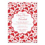Love Heart Spring Baby Shower Invitation
