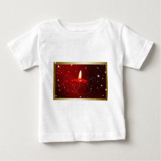Love Heart Star Golden Candles Destiny Celebration Tee Shirt