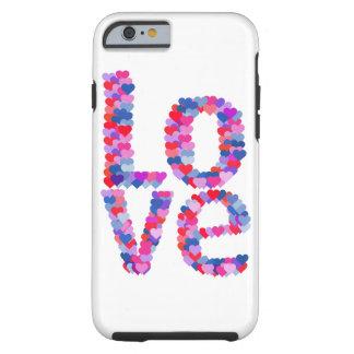 LOVE Heart Text Phone Case
