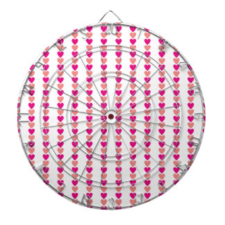 Love Heart Valentine Pink Red Beautiful Lovers Dartboard With Darts