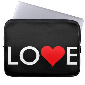 Love Heart Valentine's Day Laptop Computer Sleeve