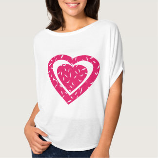 Love Heart Women T-shirt