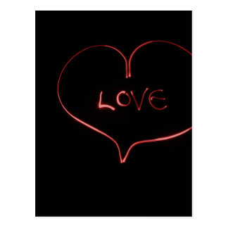 Love Heartbeat Postcard