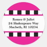 Love! Hearts Address Label - Pink Sticker