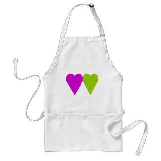 Love Hearts Adult Apron