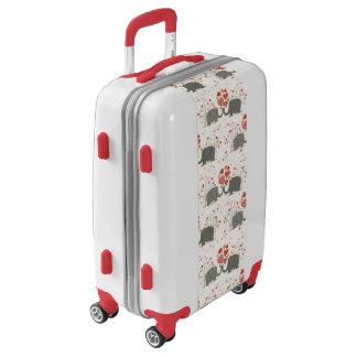 Love Hearts and Elephants Luggage