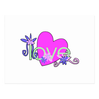Love, Hearts and Valentines Postcard