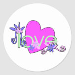 Love, Hearts and Valentines Sticker