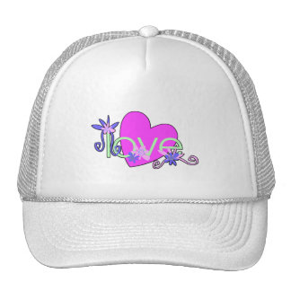 Love, Hearts and Valentines Trucker Hats