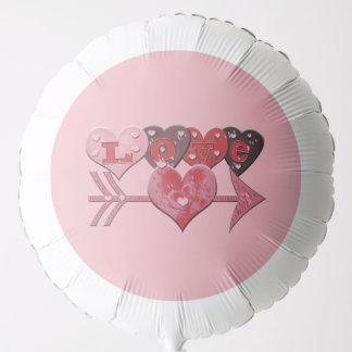 Love Hearts Arrow Balloon