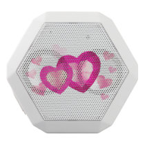 Love hearts Boombot REX, White White Bluetooth Speaker