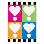 Love! Hearts Card