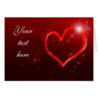 Love Hearts Card at Zazzle