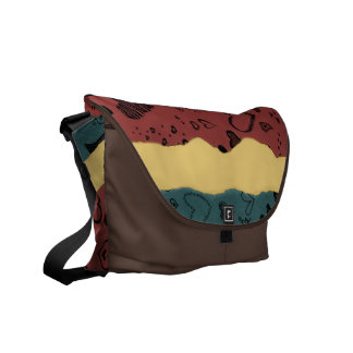 Love Hearts Courier Bag