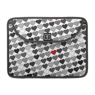 love hearts cute sleeve for MacBook pro