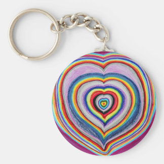 Love Hearts Expanding Keychain