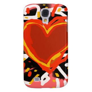 love, hearts galaxy s4 cases