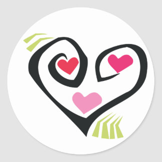 Love Hearts Gifts Stickers