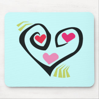 Love Hearts Giftware Mouse Pad