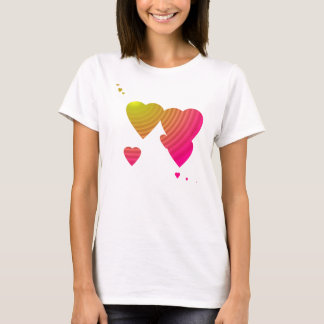 Love Hearts Graphic T T-Shirt