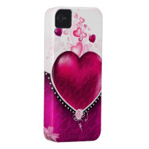 Love hearts iPhone 4 cases