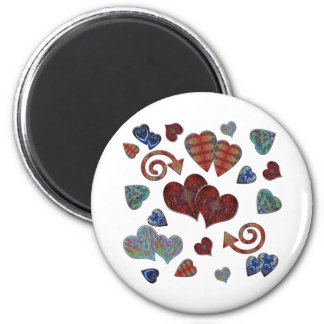 Love Hearts Magnet