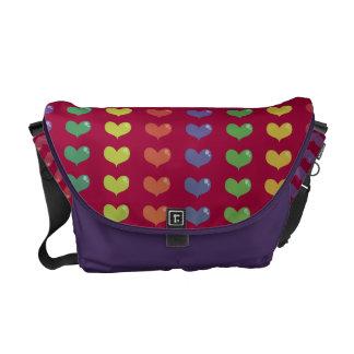 Love Hearts Messenger Bag