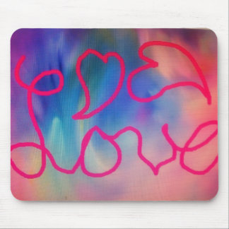 Love & Hearts Mouse Pad