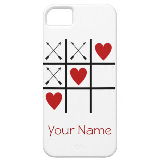 LOVE HEARTS 'n ARROWS Tic Tac Toe iPhone SE/5/5s Case