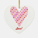 Love Hearts Ornament