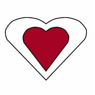 Love Hearts Photo Cutout