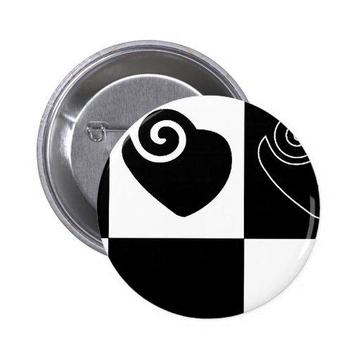 LOVE Hearts Pinback Button