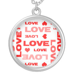 Love Hearts Red necklace