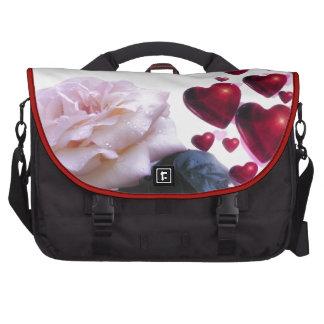 Love Hearts Roses Blossom Flower Destiny Nature Commuter Bag