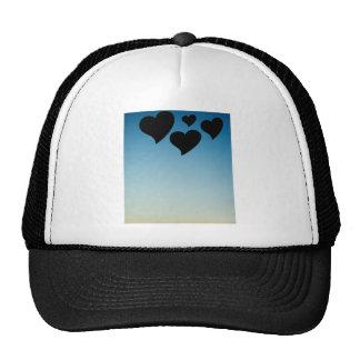 Love hearts shapes photograph romantic the Valenti Trucker Hat