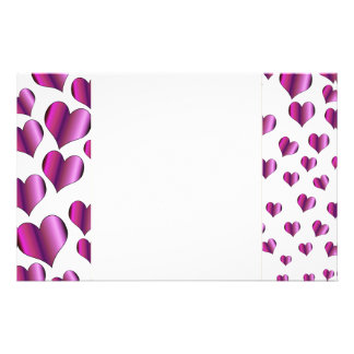 Love Hearts Stationery